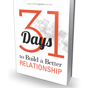 31 Days to a Better Relationship